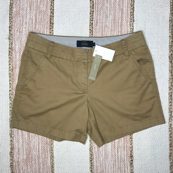 J. Crew Pants - NEW J. Crew Chino Shorts